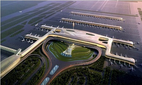 Tianhe airport T3 terminal building of lightweight partition project