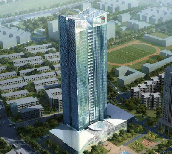 TieSiYuan headquarters building design of lightweight partition project