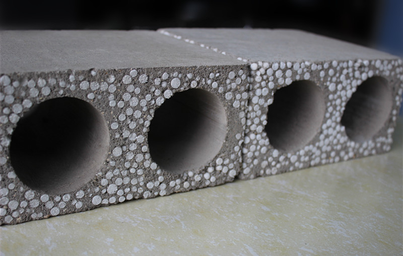 DQ hollow core wall panel
